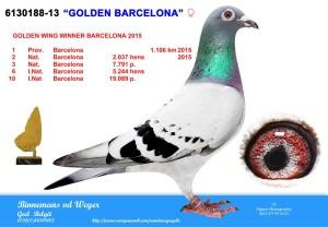 188 Golden Barcelona