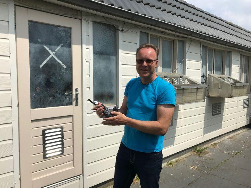 Gertjan Rigter, Amstelveen, topper op de ZLU- vluchten