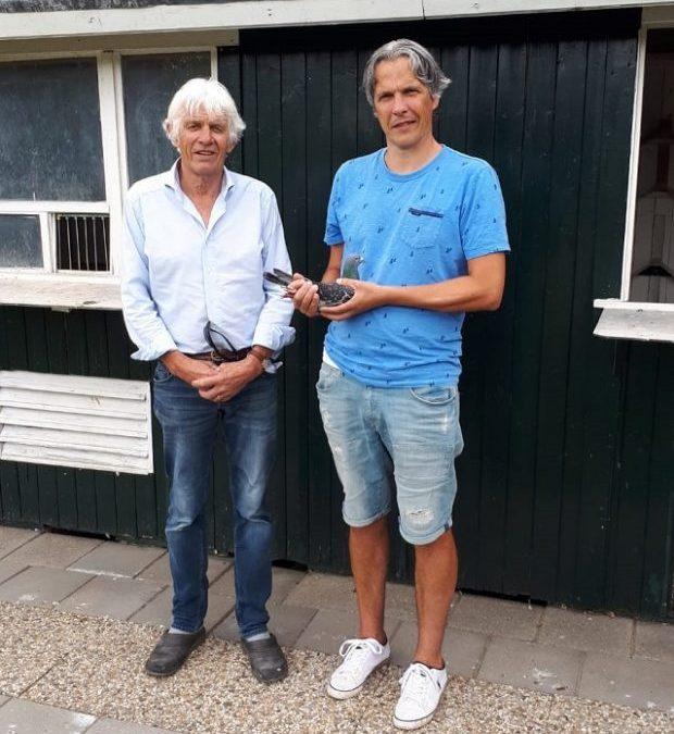 Jacky en Leen de Bruine, Nieuwerkerk (Zeeland), winnen nationaal Barcelona