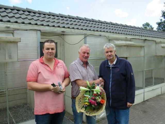 Tijmen Koele en zoon Willem hebben de snelste Limoges-duif 2019