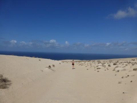 Sand, hav och vatten. Fantastiska möjligheter. Foto: privat
