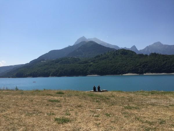 Det finns gott om fina campingplatser i Frankrike. Foto: privat