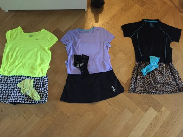 Tänkbara outfits. Foto: privat