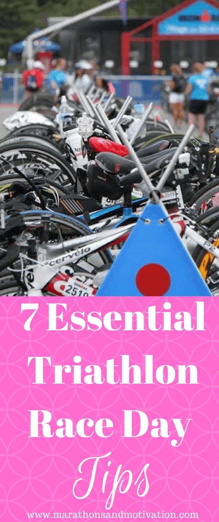Seven Essential Triathlon Race Day Tips
