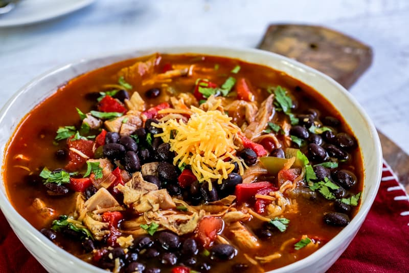 Turkey and Black Bean Chili