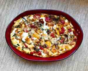 Quick & Easy Vegetarian Breakfast Casserole