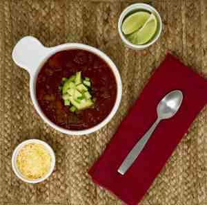 Quick and Easy Instant Pot Mexican Chili