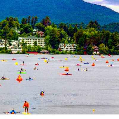 Ironman Lake Placid: The Swim
