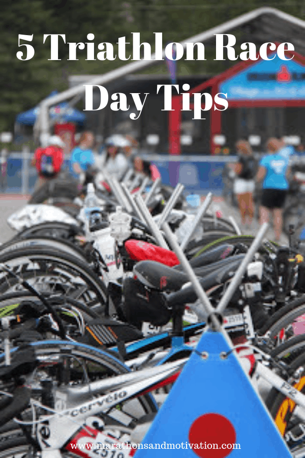 Five Triathlon Race Day Tips: Sprint Triathlon | Half Ironman Triathlon | Olympic Distance Triathlon | Ironman Triathlon | #triathlon #triathlontips