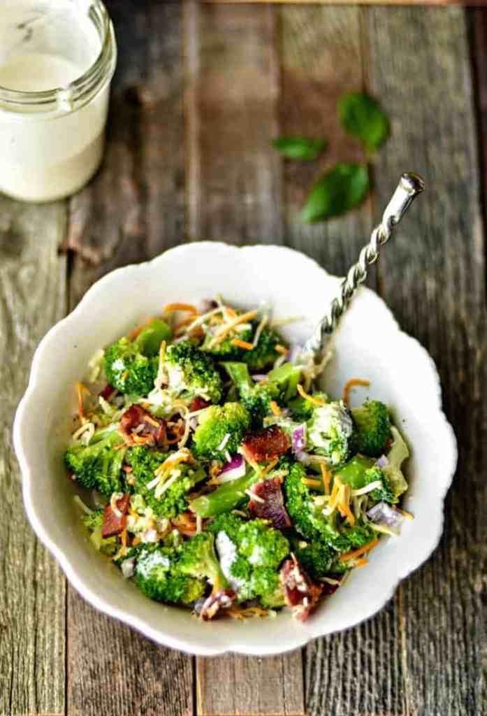 Broccoli Salad on the Light Side