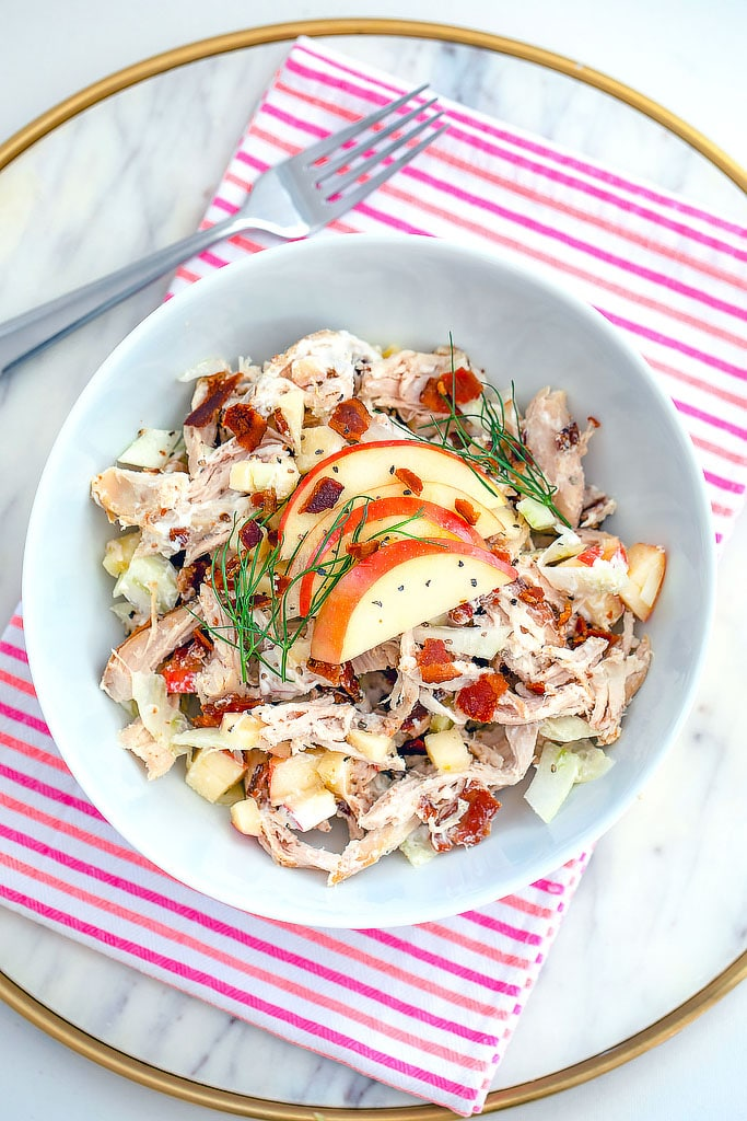 Apple, Fennel and Bacon Chicken Salad