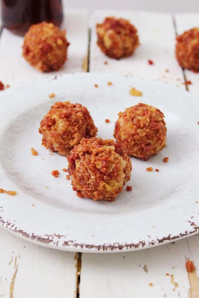 Maple Bacon Keto Truffles