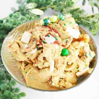 Healthy Edible Cookie Dough