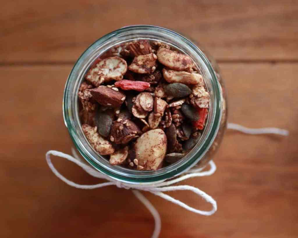 Cinnamon and Cacao Homemade Granola Recipe