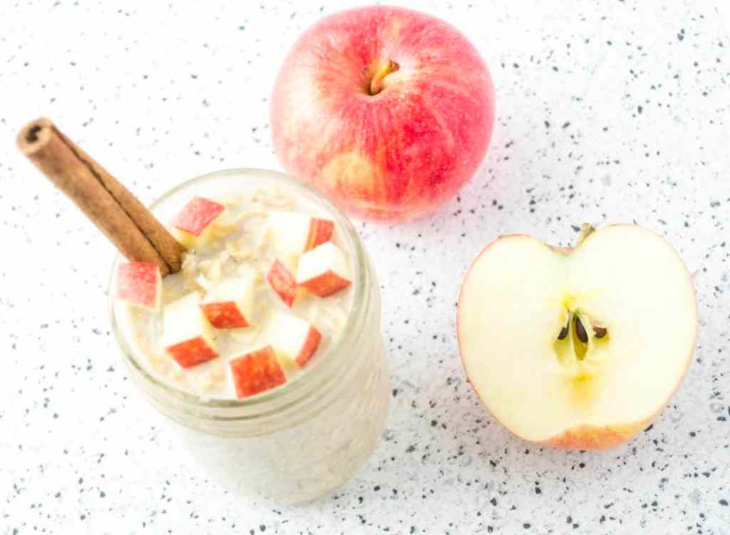 Meal Prep Apple Pie Overnight Oats