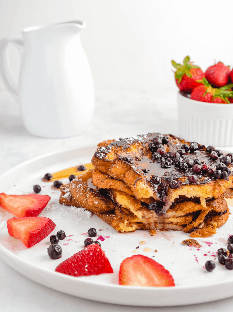 Easy Eggless French Toast