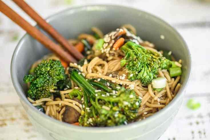 Noodle Bowl – Easy, Vegan, Gluten Free