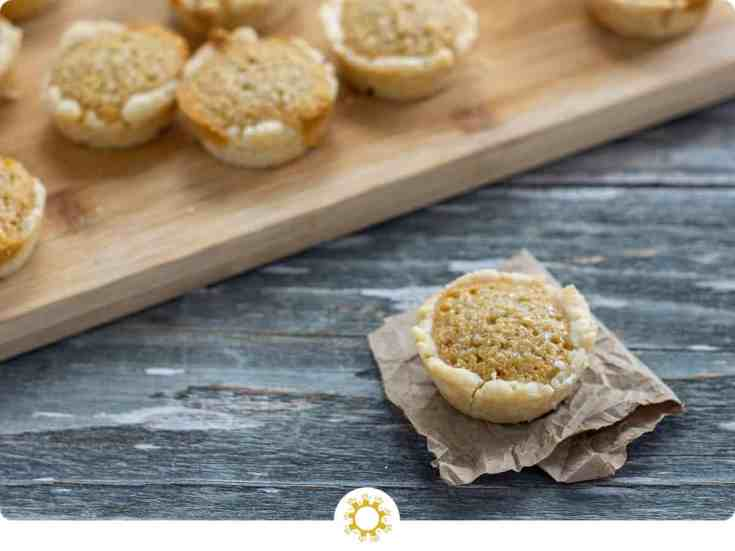 Treacle Tarts: Sweet and Vegan