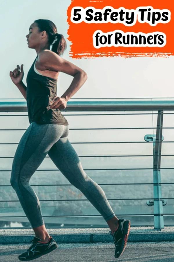5 Safety Tips for Runner Pin for Pinterest.