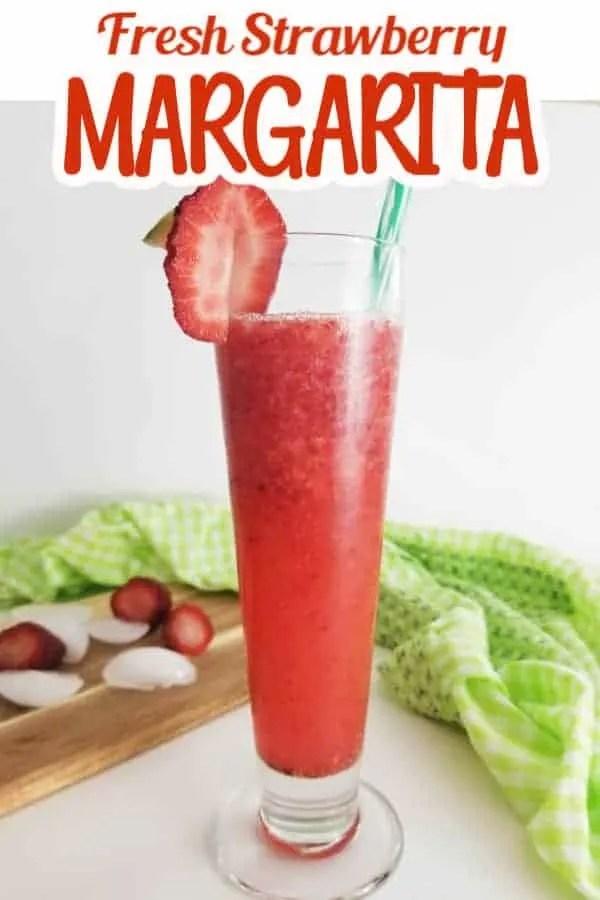 Fresh Strawberry Margarita Pin