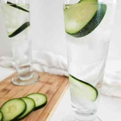 Refreshing Cucumber Melon Vodka Cocktail
