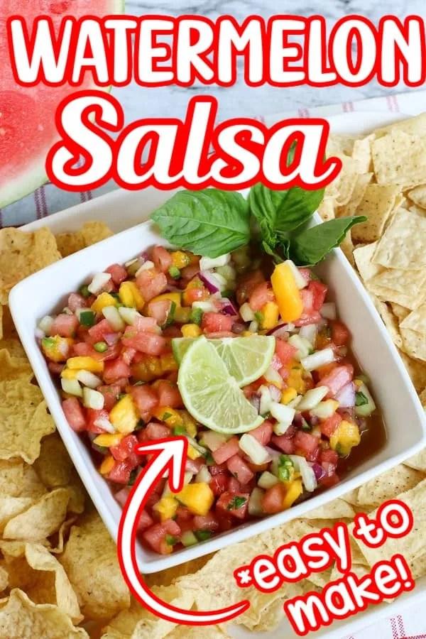 Watermelon Salsa Pin