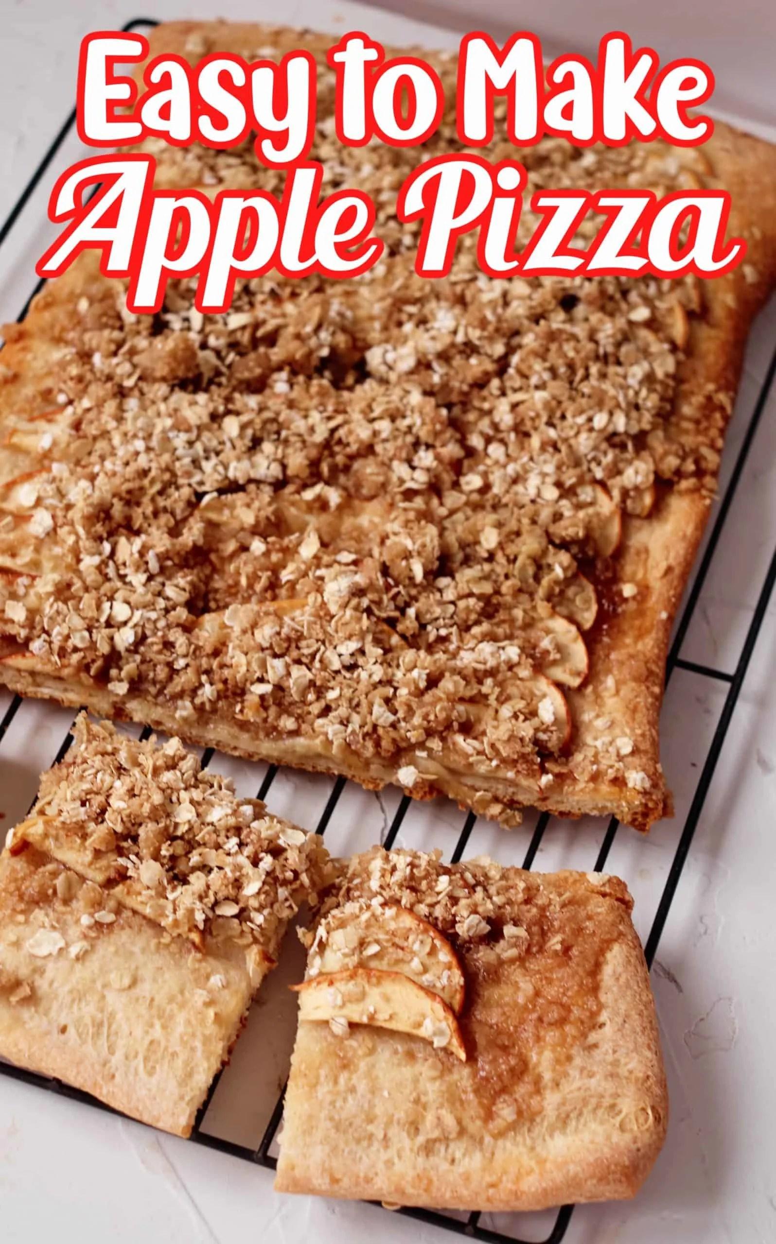Apple Pizza Pin