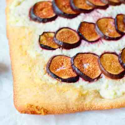 Easy to Make Fig Pizza