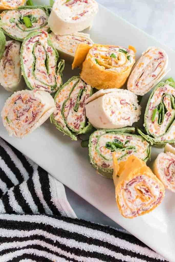 Easy Party Pinwheels