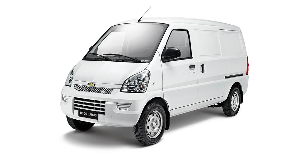 Exterior-Van cargo 3000