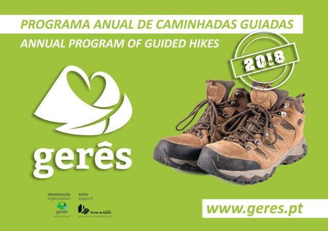 Caminhadas no Gerês : 6ª edição Programa Anual de Caminhadas Guiadas