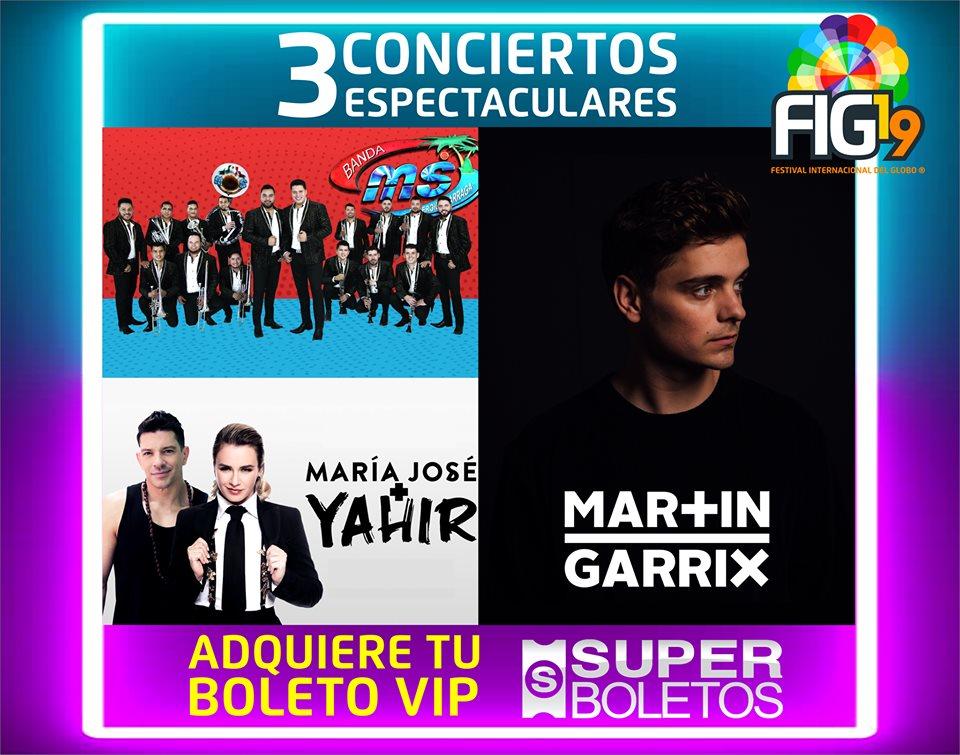 conciertos festival globo león 2019