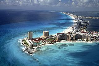 Cancún playa más visitada