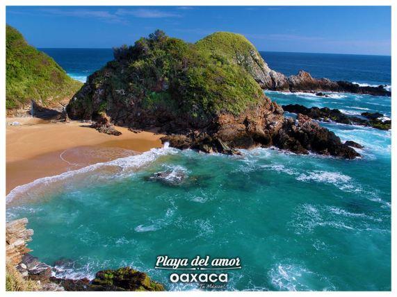 playa tranquila oaxaca