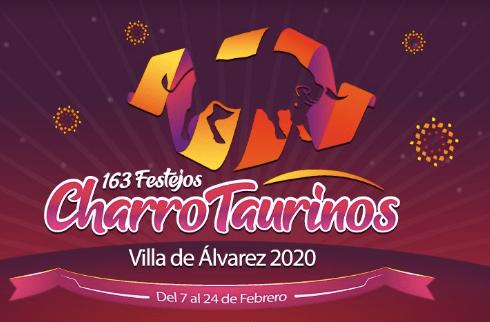 festejos charrotaurinos villa de álvarez 2020