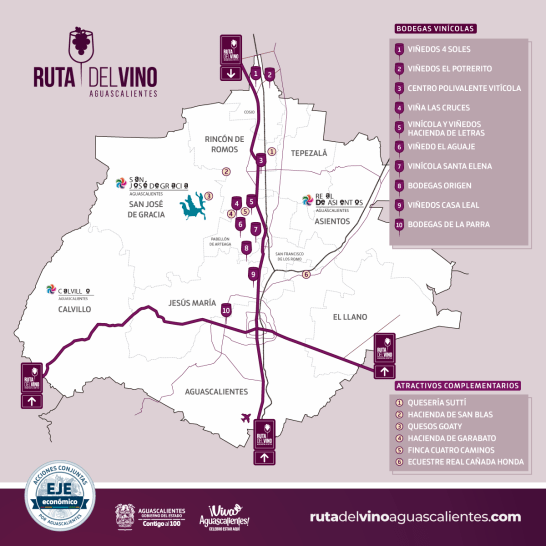 ruta vinícola aguascalientes