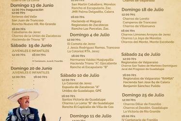 campeonato charro zacatecas