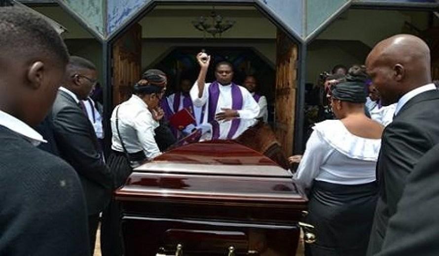 Burial for Patrick Mbewe