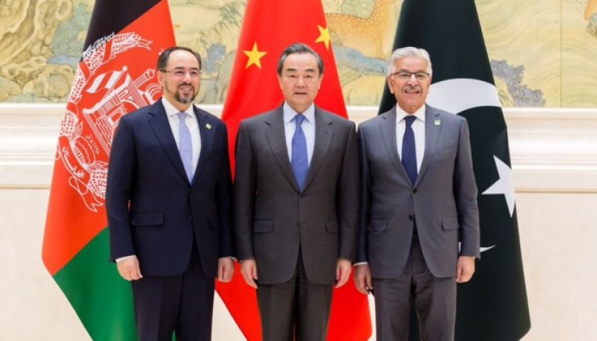 China-led Trilateral Meeting Called on Taliban