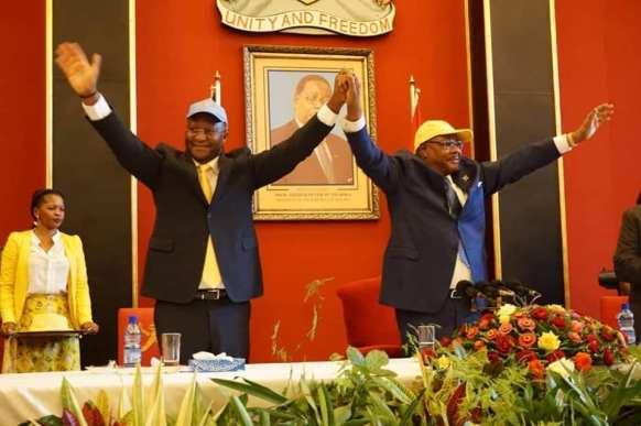Mutharika and Muluzi
