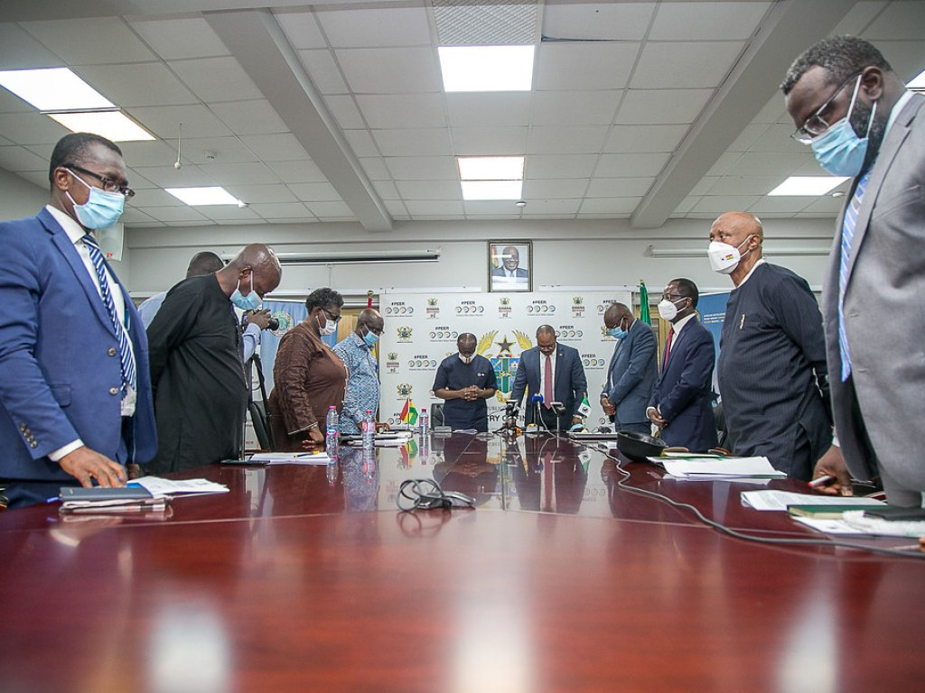Signing of Memorandum of Understanding for the hosting of the 2021 Annual Meetings of the African Development Bank Group, November 13, 2020