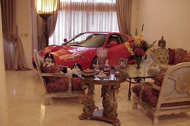 Ferrari F360 Im Wohnzimmer