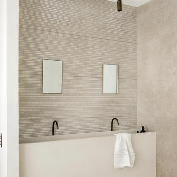 carrelage beige imitation marbre marazzi