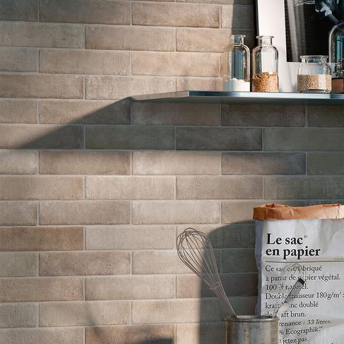 brick effect porcelain stoneware