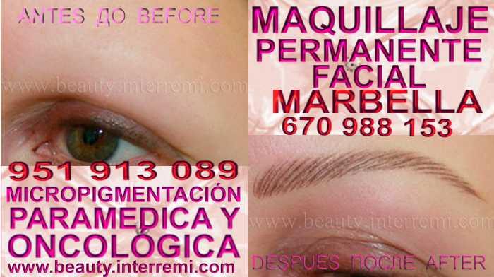 microblading cejas 3D San Pedro en la clínica estetica ofrenda Maquillaje permanente or microblading Marbella y San Pedro