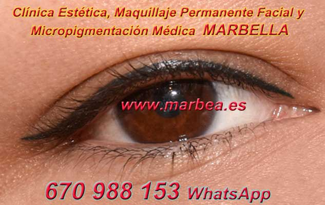 maquillaje permanente ojos Marbella en la clínica estetica ofrece micropigmentación Málaga ojos y maquillaje permanente