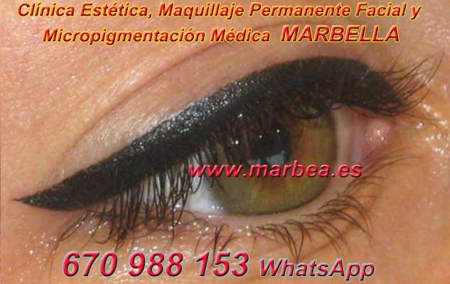 micropigmentación ojos Marbella en la clínica estetica entrega micropigmentación Antequera ojos y maquillaje permanente