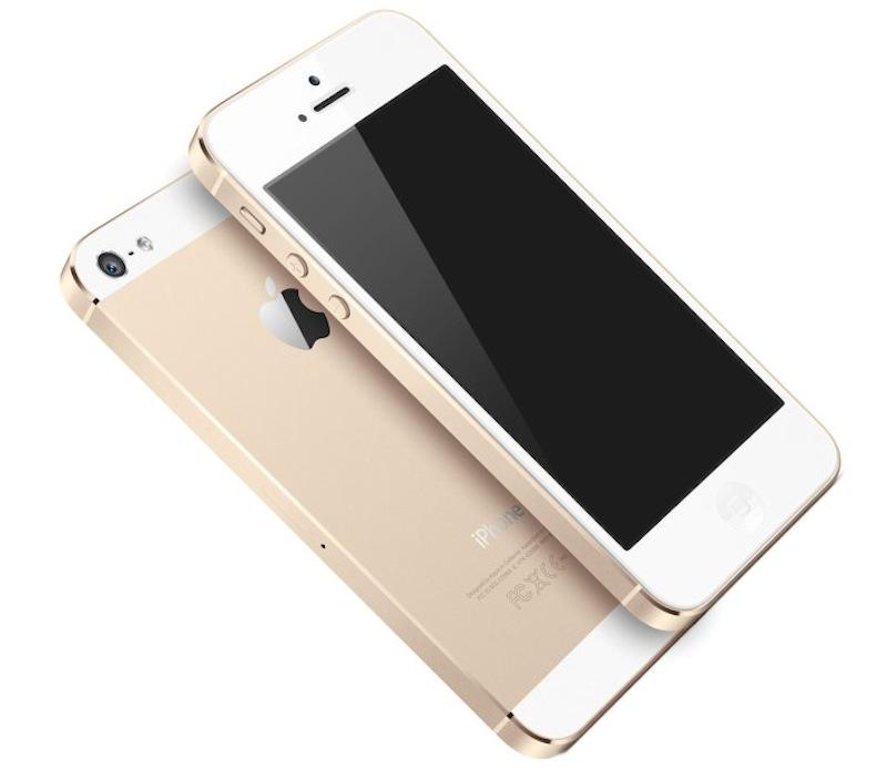 iPhone5S シャンパン