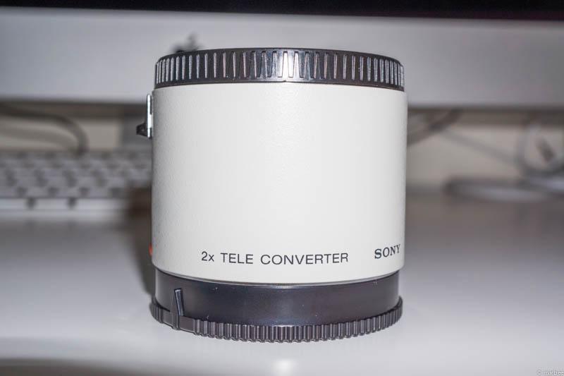 SONY 2x テレコンバーター SAL20TC