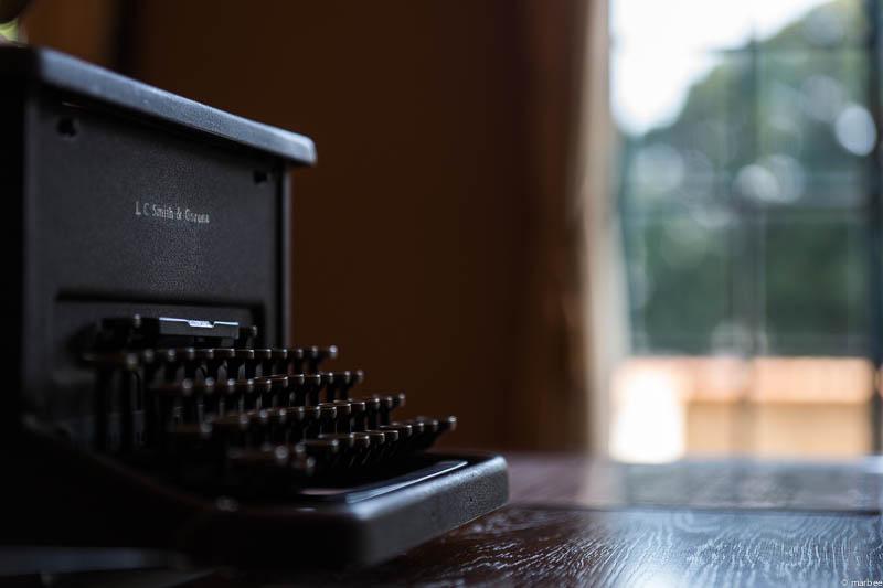 ベーリックホール タイプライター